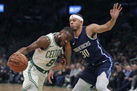 Walker scores 29 to lead Celtics past Mavericks 116-106