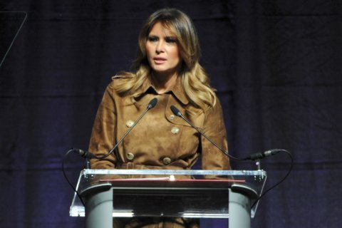 Melania Trump defends rights of Baltimore teens to boo her