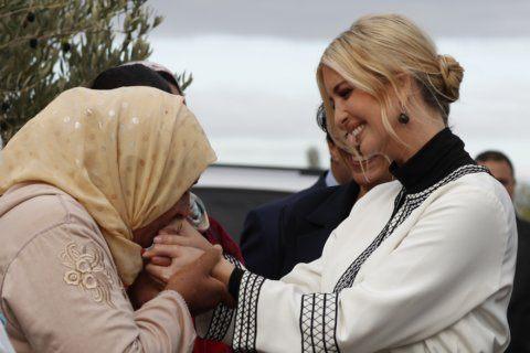 Ivanka Trump meets with female landowners on Morocco trip