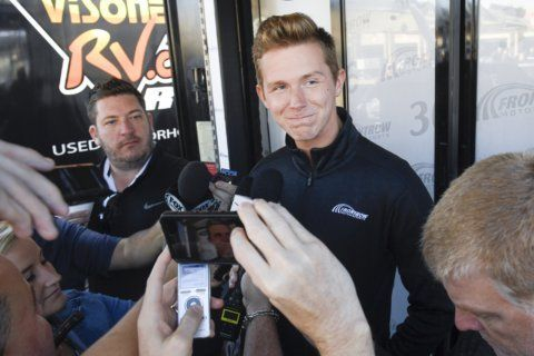 Tifft leaves Front Row Motorsports to focus on health