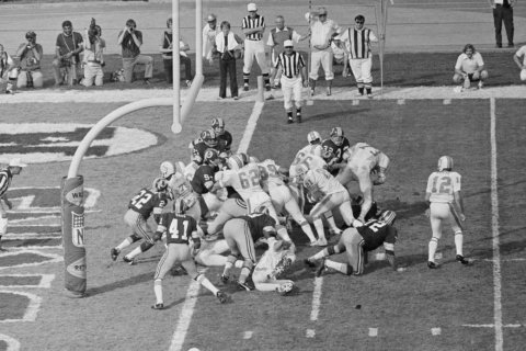 Perfection with a title makes 1972 Dolphins NFL's top team