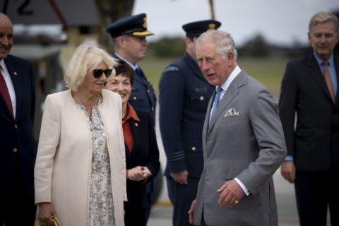 Prince Charles and Camilla begin weeklong New Zealand trip