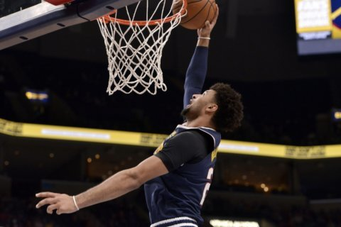 Murray scores 39 as Nuggets rout Grizzlies 131-114