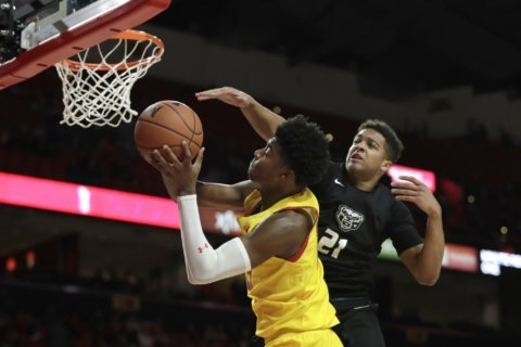 Maryland routs Oakland