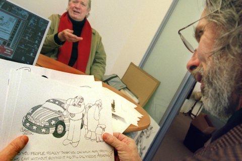 Gahan Wilson, darkly funny cartoonist, dies at 89