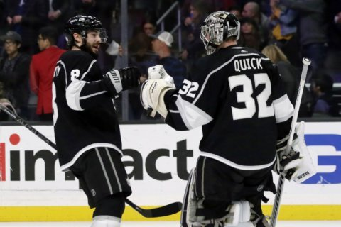 Kings pick apart Oilers' top line 5-1 to stay hot at home