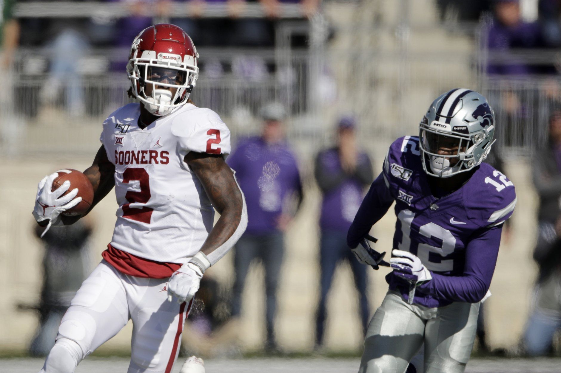 <p><strong>No. 9 Oklahoma (7-1):</strong> Win out, win Big 12 title game</p> <p>OU was rolling until the stumble in Manhattan, Kansas, but the Sooners still control their own Big 12 destiny. They've got Baylor looming in Waco in two weeks and Bedlam in Stillwater to end the regular season. If they beat the Bears twice, they'll be a popular one-loss conference champion pick.</p>