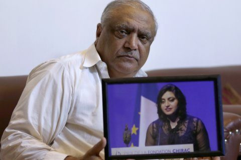 Pakistani court adjourns bail hearing for activist's father