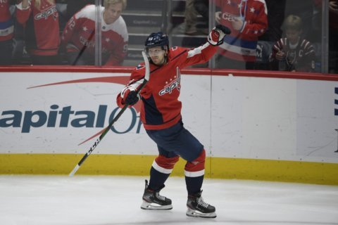 Eller, Holtby come through as Capitals edge Panthers 4-3