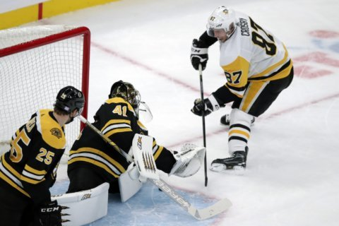 Injured Penguins star Sidney Crosby to miss Rangers game