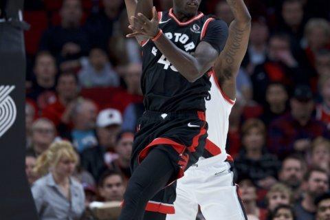 Siakam, VanVleet lead Raptors past Trail Blazers 114-106