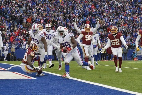 Buffalo Bills outrun Washington in 24-9 victory, move to 6-2