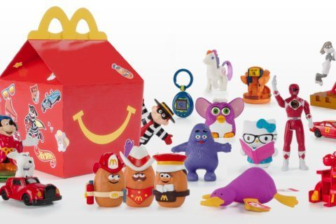 McDonald's is bringing back retro Happy Meal toys