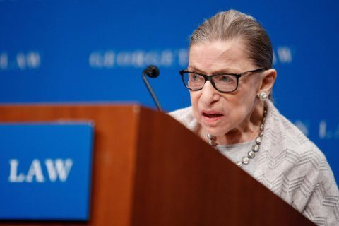 Ruth Bader Ginsburg 'skeptically hopeful' about preserving Roe v Wade and the court's future