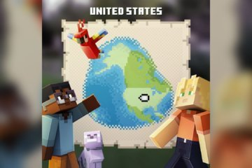 Minecraft Earth is available in the US for fans hoping to play the AR game early