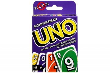 A new Uno deck promises to keep families away from politics at Thanksgiving dinner