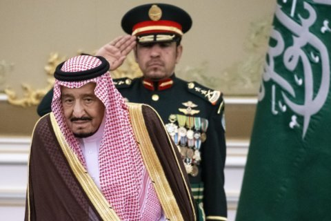Saudi king touts reforms, Aramco IPO in annual address
