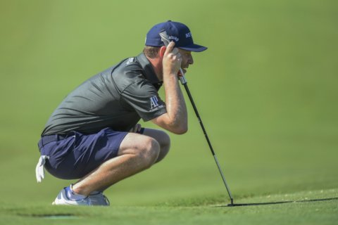 Larrazabal stumbles, then rallies to win in South Africa