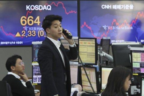 Asian markets mixed after Wall Street high