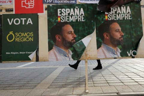 Spain's reinvigorated far right makes its presence felt