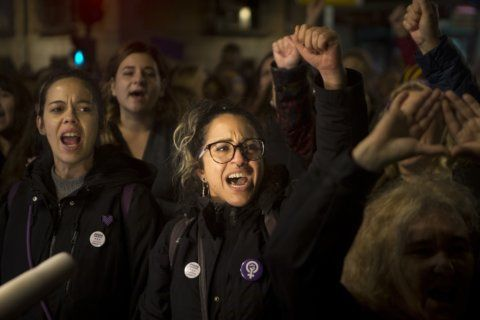 In Spain, thousands protest new verdict on group sex attack