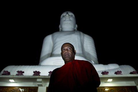 Buddhist nationalists claim victory in Sri Lankan election