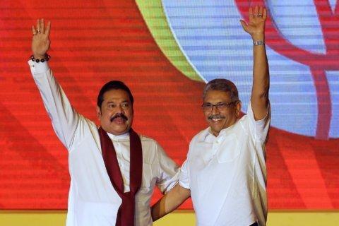 Ex-President Mahinda Rajapaksa sworn in Sri Lanka's new PM
