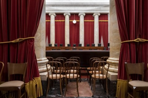 Who made the new drapes? It's among high court's mysteries
