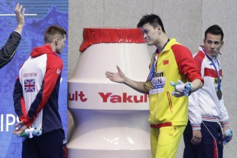 Olympic champ Sun Yang faces public hearing in doping case