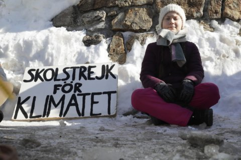 Trump vs. Thunberg: The climate crisis could dominate Davos
