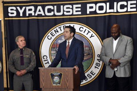 Syracuse U, shaken by racism, welcomes the holiday break