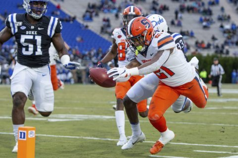Syracuse routs Duke 49-6, snaps 4-game slide