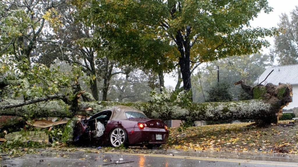 storms kill 2 knock out power downs trees on east coast wtop storms kill 2 knock out power downs