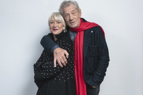 Helen Mirren, Ian McKellen relish roles in 'The Good Liar'