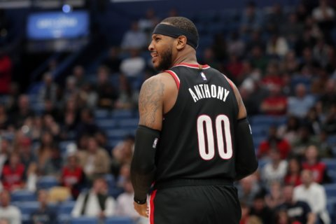 Carmelo Anthony takes a new outlook to his new team