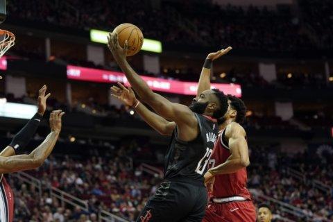 Harden, Westbrook help Rockets rout Trail Blazers 132-108