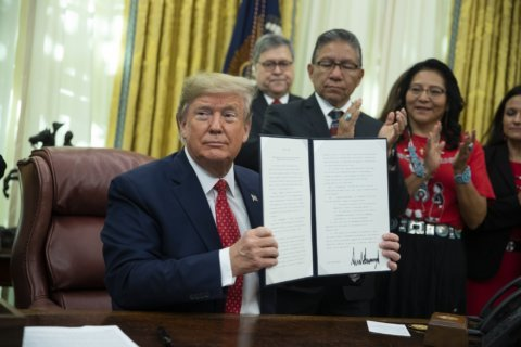 Trump order creates task force on missing American Indians