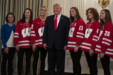 President Trump meets with 22 college championship teams