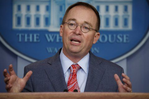 Mulvaney's bid to join impeachment lawsuit challenged
