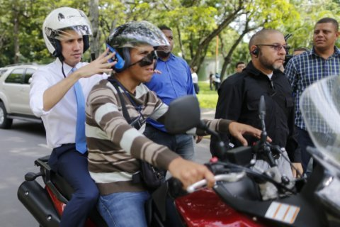 Venezuela's Guaidó urges nation back into the streets