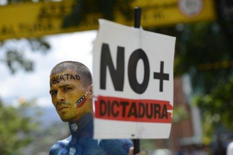 Venezuela's Guaidó leads thousands in anti-Maduro protest