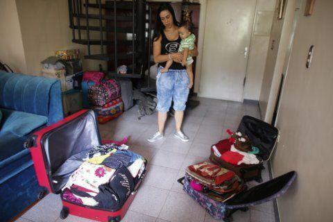 Venezuelans charting escape selling off past at flea markets
