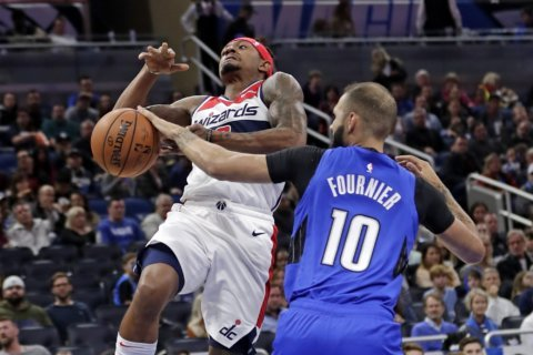 Wizards cap road trip with 125-121 loss in Orlando