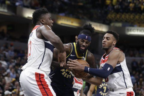 Warren scores 21 to lead Pacers over Wizards 121-106