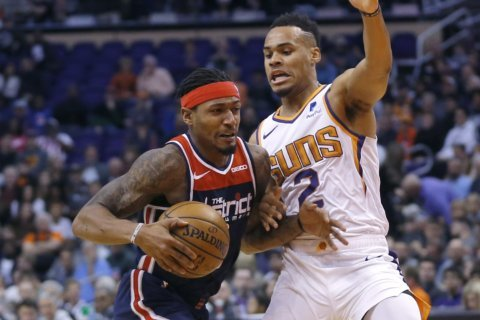 Beal scores 35 points, Wizards top Suns 140-132