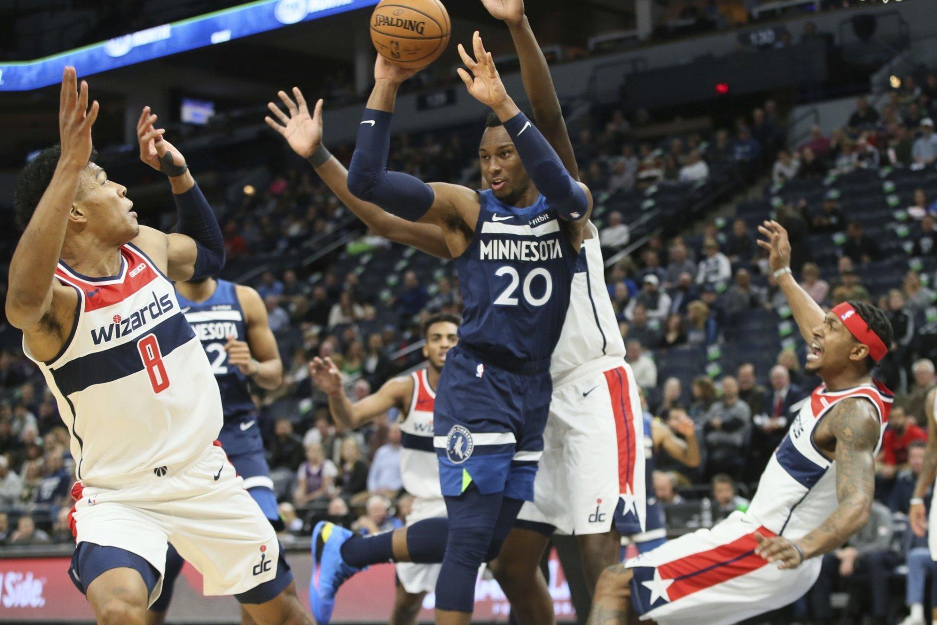 Beal Scores 44 Again As Wizards Beat Timberwolves 137 116 Wtop