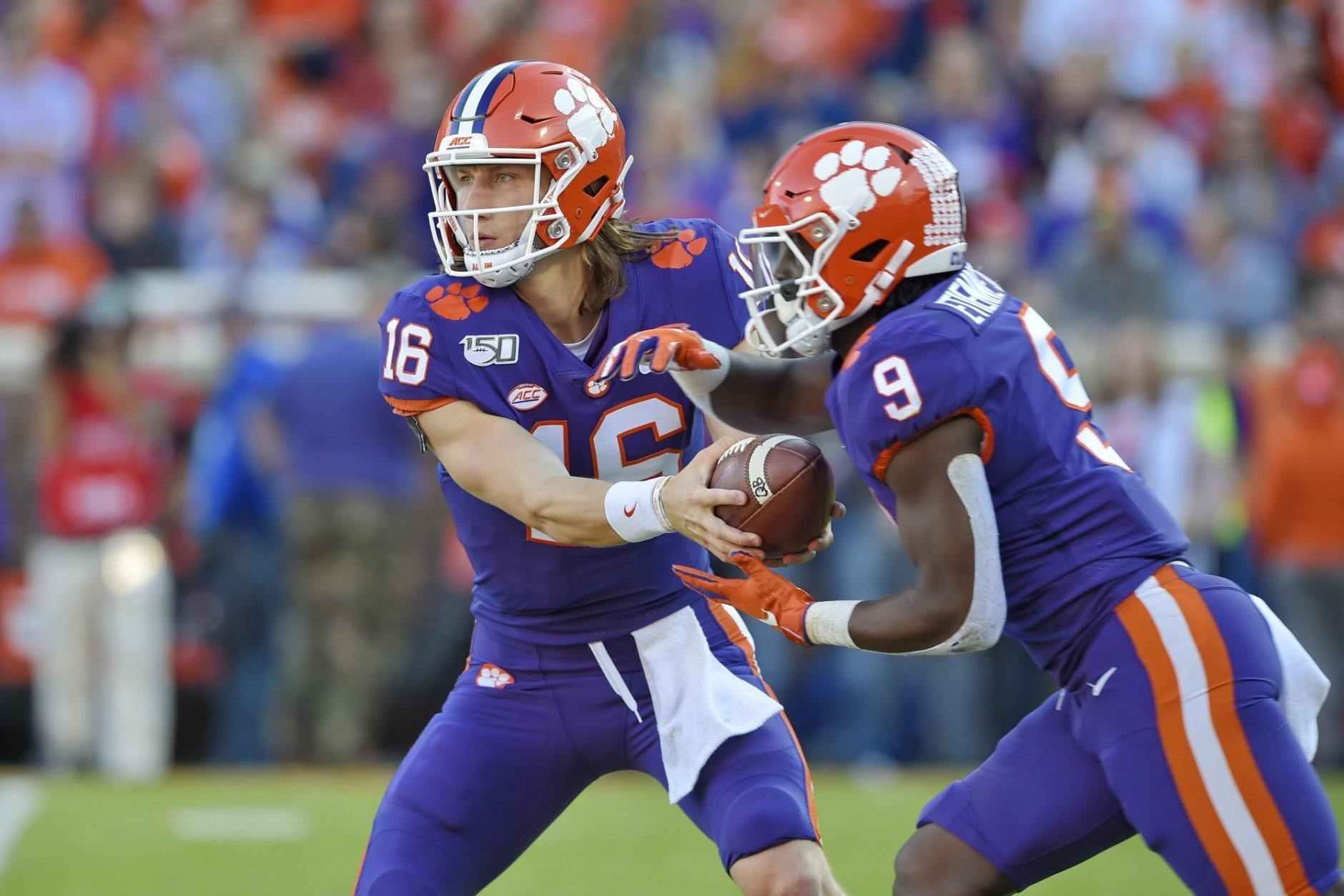 <p><strong>No. 5 Clemson (9-0):</strong> Beat Wake Forest, win ACC title</p> <p>Who would have guessed that the Clemson-Wake Forest game might determine the playoff fate of the ACC? With no viable playoff challenger in the Coastal, the winner of that game won't have a resume-boosting chance in the title game. Could Clemson get in despite a loss at NC State or South Carolina? Maybe, but their initial positioning makes that seem unlikely, unless they get some serious help.</p>