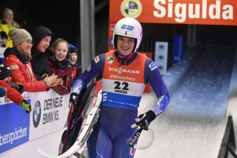 Britcher, Sweeney aim at elusive World Cup luge title for US