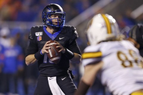 New Mexico seeking normalcy facing No. 19 Boise State