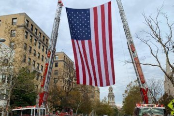 WATCH: DC firefighters honor colleague who died on duty